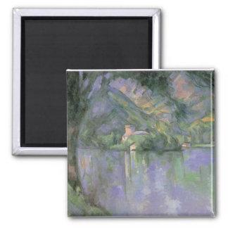 Paul Cezanne - Le lac d Annecy 1896 Refrigerator Magnet