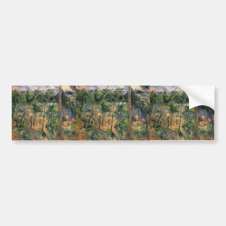 Paul Cezanne- L'Estaque View Through The Pines Bumper Stickers