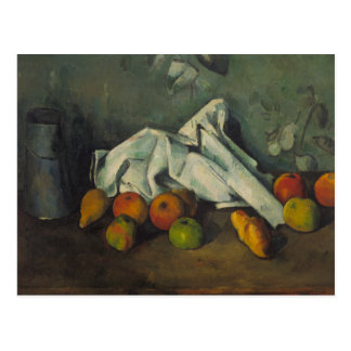 Paul Cezanne - Milk Can and Apples Postcard