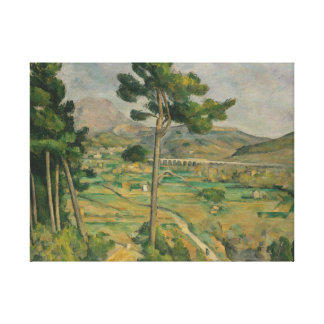 Paul Cézanne Oil Painting on-canvas Stretched Canvas Print
