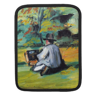 Paul Cezanne - Painter at Work Sleeve For iPads