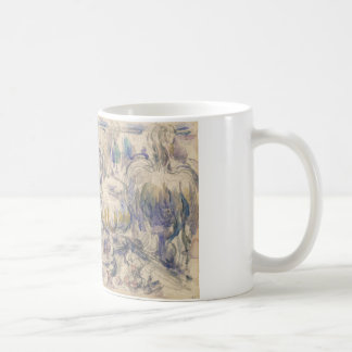 Paul Cezanne - Pot and Soup Tureen Basic White Mug
