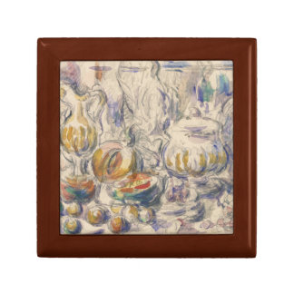 Paul Cezanne - Pot and Soup Tureen Small Square Gift Box