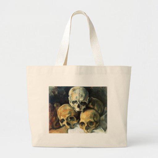 Paul Cézanne - Pyramid of Skulls Jumbo Tote Bag
