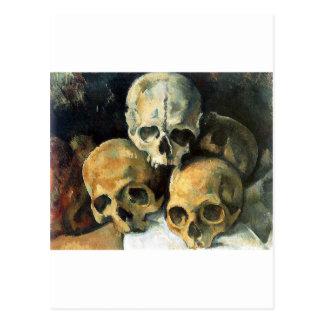 Paul Cézanne - Pyramid of Skulls Post Card