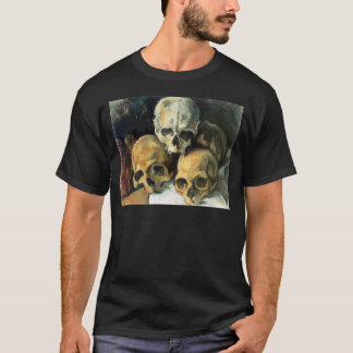 Paul Cézanne - Pyramid of Skulls T-Shirt