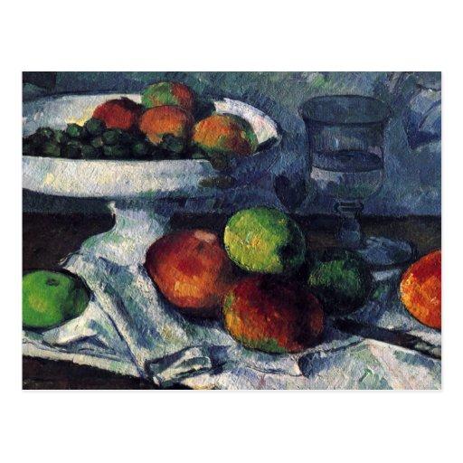 Paul Cezanne Still Life/Postcard