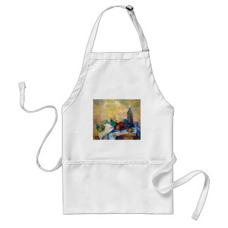 Paul Cezanne - Still life Rum Standard Apron