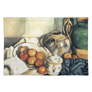 Paul Cezanne Still Life With Apples Placemat