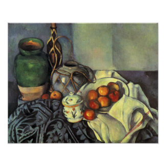 Paul Cezanne, Still Life with Fruit Poster