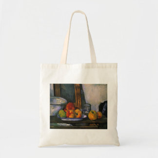 Paul Cezanne- Still life with open drawer Bags