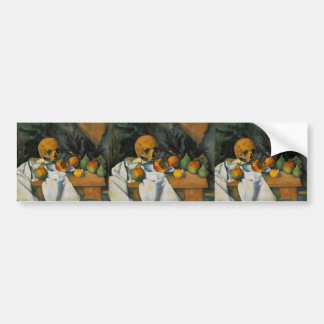 Paul Cezanne- Still Life with Skull Bumper Stickers