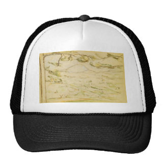 Paul Cezanne- The Arc Valley Mesh Hat