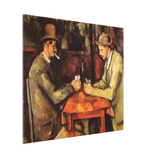 PAUL CEZANNE - The card players 1894 Canvas