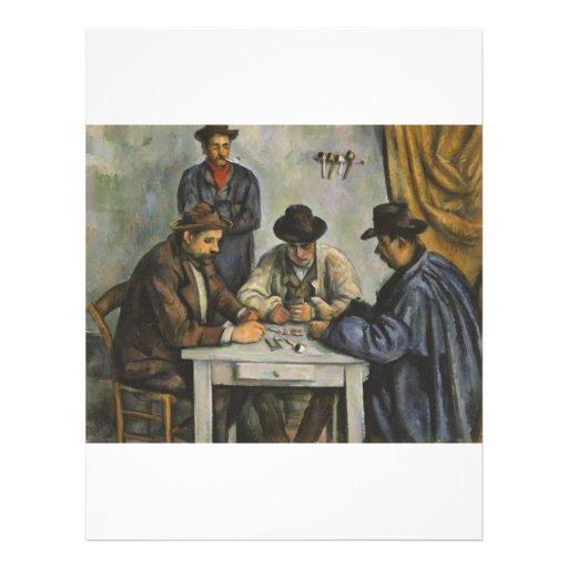 Paul Cézanne - The Card Players Flyer