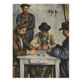Paul Cézanne - The Card Players Postcard
