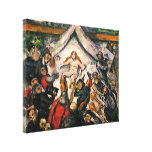 Paul Cezanne - The Eternal Feminine Stretched Canvas Print