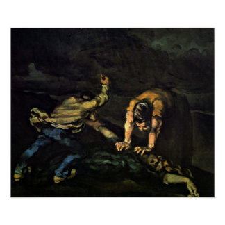 Paul Cezanne - The Murder Poster