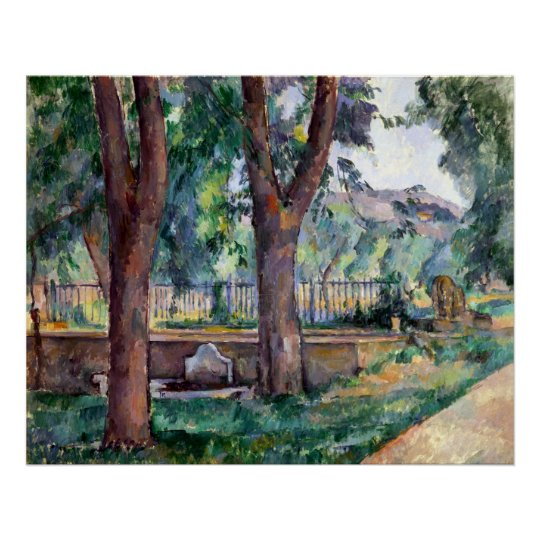 Paul Cezanne The Pool at the Jas de