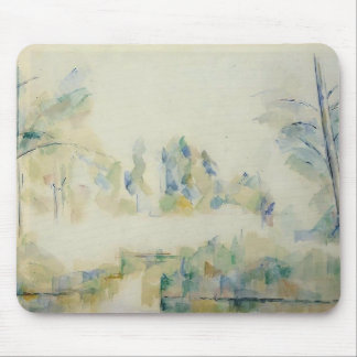 Paul Cezanne- Trees by the Water Mousepads