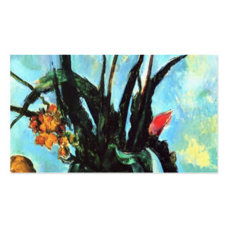 Paul Cezanne- Tulips in a Vase Business Cards
