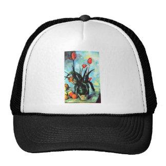 Paul Cezanne - Vase of Tulips Hat
