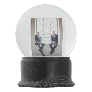 Paul + Don's Wedding Snowglobe Snow Globes