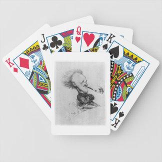 Paul Ferdinand Gachet (1862-1930) c.1887 (pencil o Bicycle Poker Deck