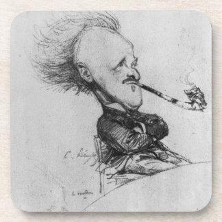 Paul Ferdinand Gachet 1862-1930 c 1887 pencil o Drink Coasters