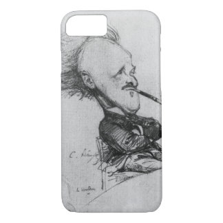 Paul Ferdinand Gachet (1862-1930) c.1887 (pencil o iPhone 7 Case