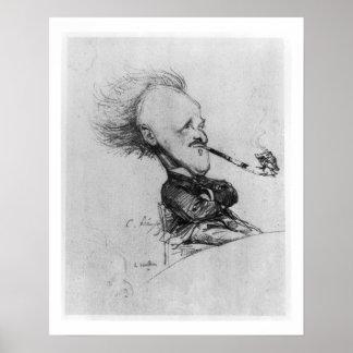 Paul Ferdinand Gachet (1862-1930) c.1887 (pencil o Poster