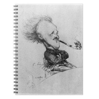 Paul Ferdinand Gachet (1862-1930) c.1887 (pencil o Spiral Notebooks