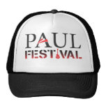 Paul Festival Black & White Trucker Hat