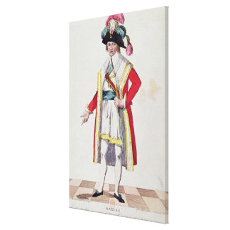 Paul Francois Jean Nicolas  Vicomte de Barras Canvas Print