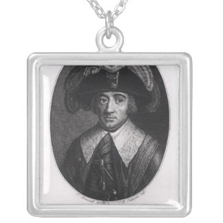 Paul Francois Jean Nicolas  Vicomte de Barras Silver Plated Necklace