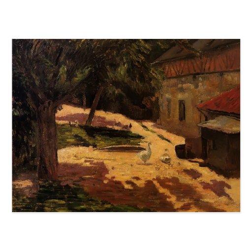 Paul Gauguin- A Henhouse Postcards