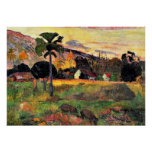 Paul Gauguin art: Come Here, painting by Gauguin Poster
