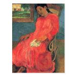 paul gauguin Art Post Card