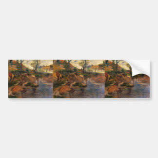 Paul Gauguin- Cove opposite Pont-Aven Harbor Bumper Stickers