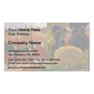 Paul Gauguin- Farm in Brittany Pack Of Standard Business Cards