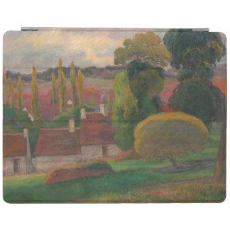 "Paul Gauguin ""Farm in Brittany"" France art print iPad Cover"