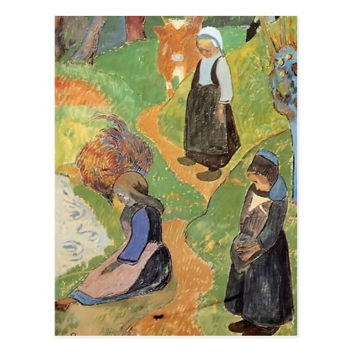 Paul Gauguin- In Brittany Postcards