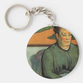 Paul Gauguin- Madame Roulin Key Chains
