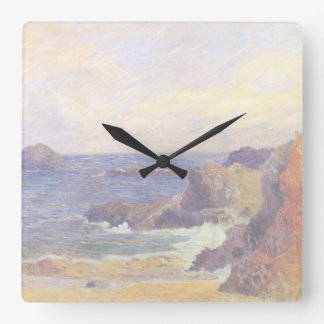 Paul Gauguin - Rocky Coast - France Beach Sunset Clocks