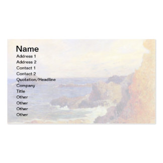 Paul Gauguin - Rocky Coast - France Beach Sunset Pack Of Standard Business Cards
