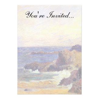 Paul Gauguin - Rocky Coast Custom Invitation