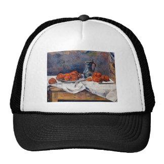 Paul Gauguin- Tomatoes & pewter tankard on table Cap