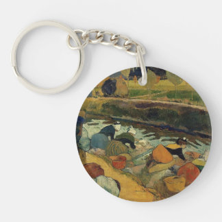 Paul Gauguin- Washerwomen at Roubine du Roi Acrylic Keychain