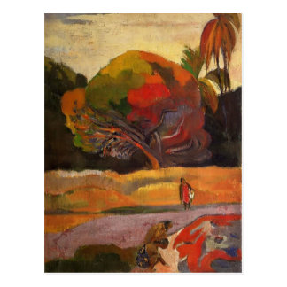 Paul Gauguin- Women at the riverside Postcard
