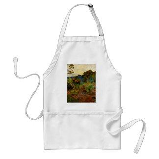 Paul Gauguin's Martinique Landscape (1887) Apron